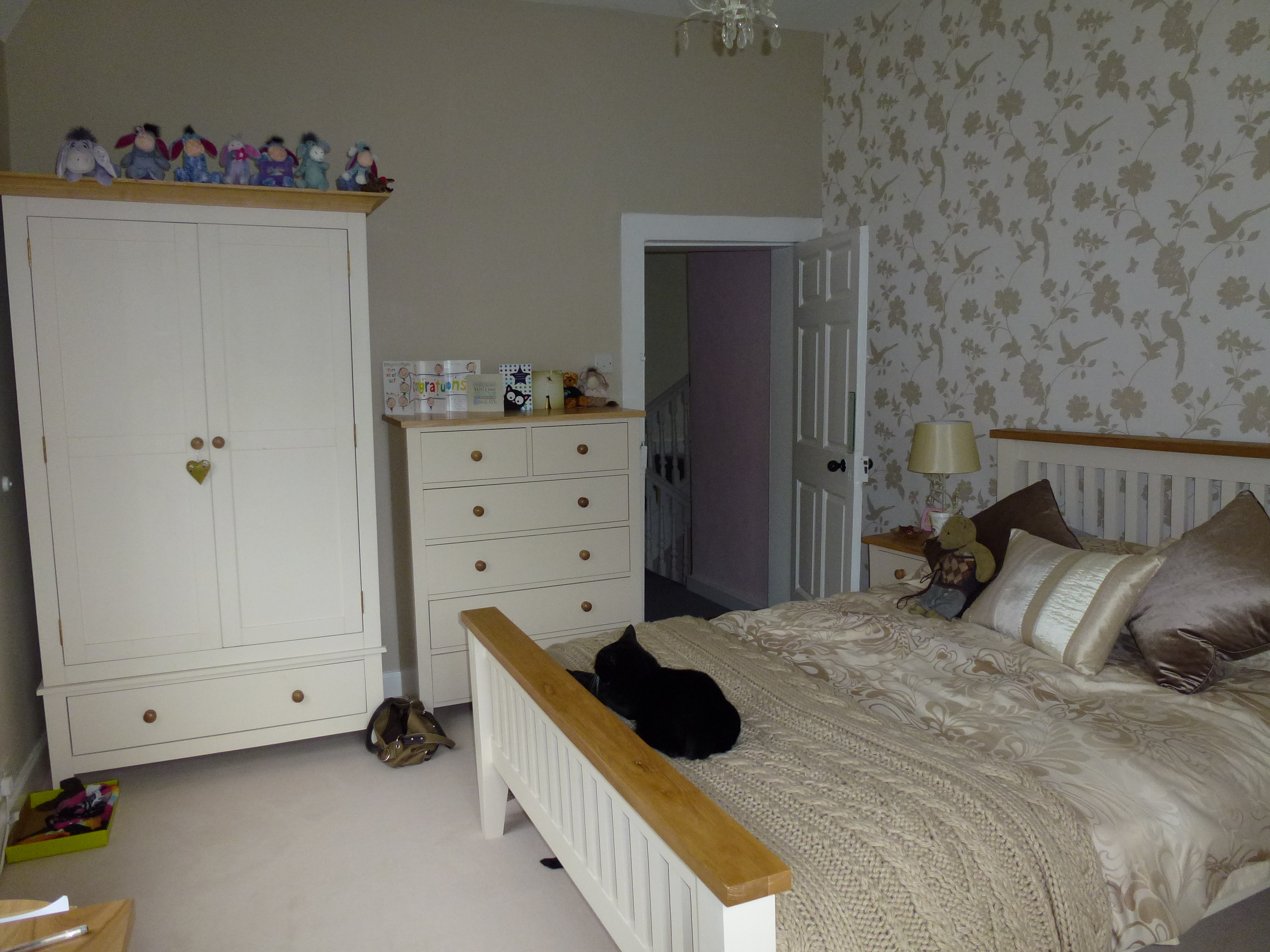 Laura Ashley Bedroom Wallpaper The Girls Bedrooms Hillfoot House